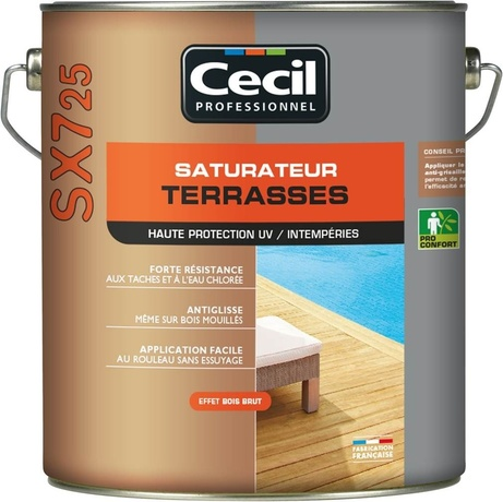 SATURATEUR TERRASSES SX 725 en 5L